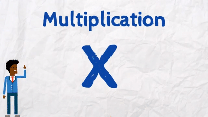 X le signe des multiplications