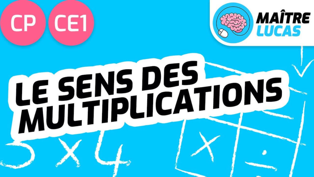 Le sens des multiplications